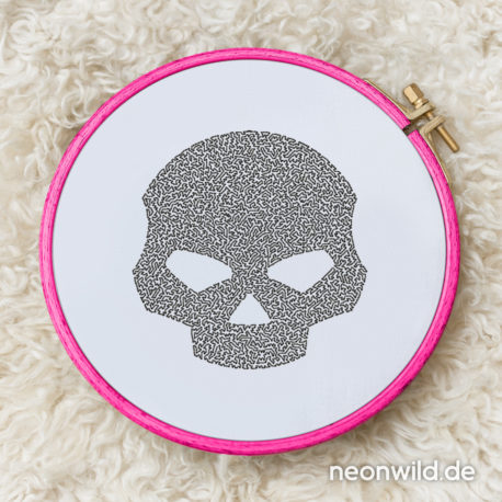 EEE Stickdatei Skull